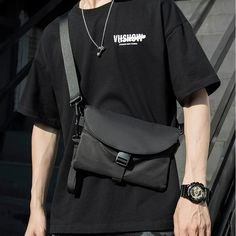 Smarter Shopping, Better Living! Aliexpress.com Fashion Bags, Mens Fashion, Fashion Outfits, Grunge Accessories, Mens Crossbody Bag, Red Slip Dress, Men's Totes, Fabric Bags, Casual Bags
