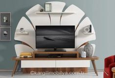 Do a couple of these in weed leafs Wall Unit Designs, Living Room Tv Unit Designs, Tv Unit Decor, Tv Wall Decor, Tv Cabinet Design, Tv Wall Design, Tv Showcase Design, Modern Tv Wall Units, Modern Tv Cabinet