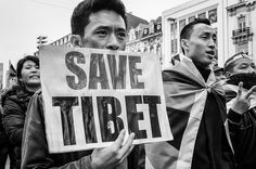 Free Tibet a Brussels