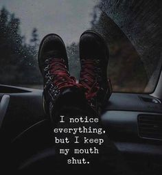 Positive Quotes :    QUOTATION – Image :    Quotes Of the day  – Description  I notice everything..  Sharing is Power  – Don't forget to share this quote !    https://hallofquotes.com/2018/03/13/positive-quotes-i-notice-everything/