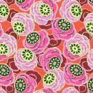 Dream weaver  Clouded floral Persimmon SUR COMMANDE DELAI 3/4 SEMAINES
