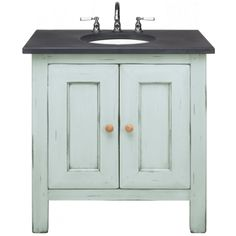 Washstand 800 Graphite Top - Furniture - Shop by type - Bathrooms Loft Ensuite, Downstairs Cloakroom, Wall And Floor Tiles, Wall Tiles, Houghton House, Wash Stand, Fired Earth, Bathroom Inspiration, Bathroom Ideas