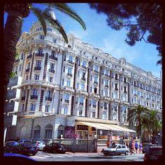 Photo by nibbazar • Instagram  Carlton, #Cannes #www.frenchriviera.com