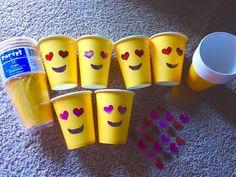 Easy DIY Emoji Birthday Party Ideas for Kids – Party Wowzy - Modern - Diana 10th Birthday Parties, Diy Birthday, Birthday Party Decorations, Party Themes, Party Ideas, Emoji Decorations, Birthday Ideas, Garden Decorations, Emoji Birthday Shirt