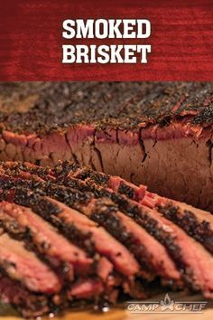 There is nothing better than Smoked Brisket on your SmokePro pellet grill. Grab a bottle of Camp Chef All Purpose Seasoning, rub it on, and smoke away. In several hours, you'll be enjoying a fall-apart, melt-in-your-mouth, too-delicious-to-believe cut of brisket with your friends and family. http://www.campchef.com/recipes/smoked-brisket/