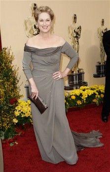 Oscars 2009 red carpet: Meryl Streep