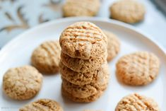 Protein Treats By Nicolette : Chewy Peanut Butter Protein Cookies