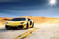 Gold Aventador - speechless