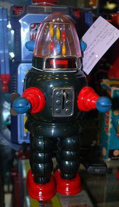 ATTIC OF ASTOUNDING ARTIFACTS: Robot