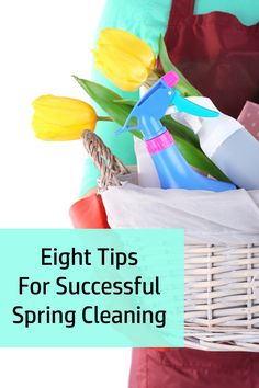 Here are my top eight tips for spring cleaning – click through to get them!
