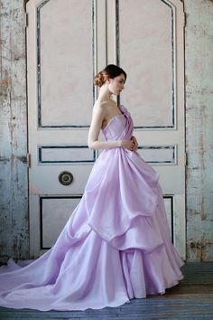 Lovely lavender gown from Sareh Nouri's 2015 Collection - Wedding Gowns
