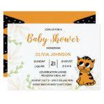 The Little Tiger Cub | Baby Shower Invitation #weddinginspiration #wedding #weddinginvitions #weddingideas #bride