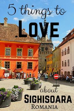 Ever considered visiting Romania? It's not all about Bucharest. Here are 5 things to love about the medieval town of Sighisoara.