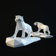 sculpture saber-toothed tiger Model available on Turbo Squid, the world's leading provider of digital models for visualization, films, television, and games. French Bulldog Art, Cardboard Art, 3d Prints, Origami Art, Polymer Clay Crafts, 3d Paper, Paper Models, Kirigami, Design Reference