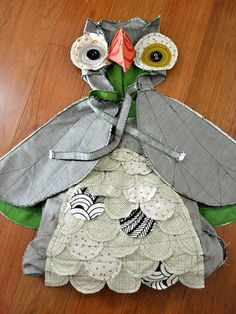 DIY Owl Costume