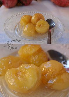 Greek Sweets, Greek Desserts, Greek Recipes, Fruit Recipes, Dessert Recipes, Comme Un Chef, Le Chef, The Kitchen Food Network, Cooking Tips