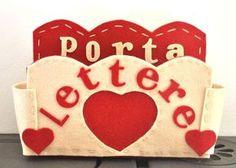 Porta Lettere in feltro e pannolenci