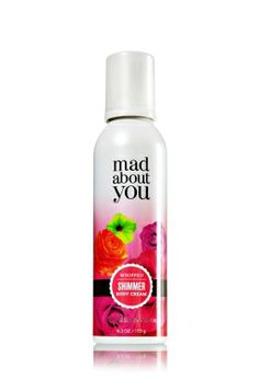 Mad About You Whipped Shimmer Body Cream - Signature Collection - Bath & Body Works