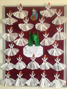 """The post """"Mevlana week"""" appeared first on Pink Unicorn activities Cartoon"""