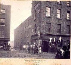 Upper John's Lane West,viewed from Thomas Ireland Pictures, Images Of Ireland, Old Pictures, Old Photos, Vintage Photos, Dublin Street, Dublin City, Photo Engraving, Ireland Homes