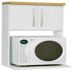 Mueble aereo para microondas google search casa for Repisa para microondas