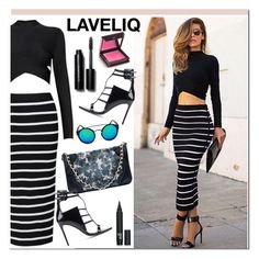 """LAVELIQ 9"" by aida-nurkovic ❤ liked on Polyvore featuring Barbara Bui, Bobbi Brown Cosmetics, Jouer, women's clothing, women, female, woman, misses, juniors and Laveliq"