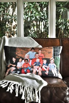 Looking for a unique way to showcase your family photographs? Narrative custom photo pillows bring your treasured images to life.  Handmade throw pillow case from the highest quality eco-friendly canvas, filled with a luxurious down feather insert. Click to get started creating your unique home decor items now or pin to save for later!