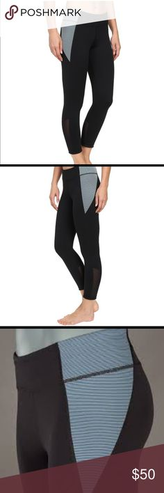 NWT Under Armour Mirror/Shape Shifter Crop Legging 5 star rating on the UA website! Brand new, never worn - I have way too many running tights.                        Fitted: Next-to-skin without the squeeze. Signature Moisture Transport System wicks sweat Lightweight, 4-way stretch construction improves mobility & maintains shape Wide, flat waistband with a rise Advanced seam placement to eliminate pressure points & chafing New gusset design fits just right & never looks too tight Hidden…