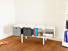 Cubist Storage Systems : Fold Bookcase