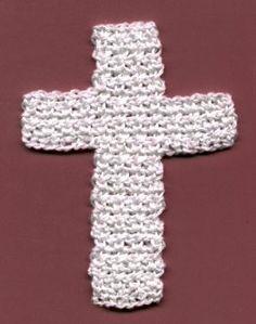 Crochet Cross ~ free pattern