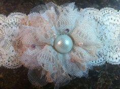 DIY vintage lace Garters