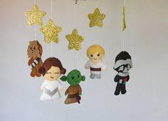 Star Wars baby mobile Star wars nursery decor Star wars baby