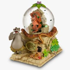 Disney Snowglobes Collectors Guide: Disney's The Jungle Book Snowglobe