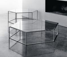 Coffee tables | Tables | Hexagon | Desalto | Tokujin Yoshioka. Check it out on Architonic