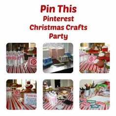 Party Ideas - Pinterest Christmas Party