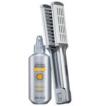 ADVANCE TECHNIQUES Strong & Straight Pair- Formulated with keratin and bamboo extract, treatment is instantly absorbed to help strengthen hair. Reinforces the hair fiber from root to tip and leaves it looking and feeling thicker and fuller. Regularly $6.99, buy Avon Advance Techniques online at http://eseagren.avonrepresentative.com