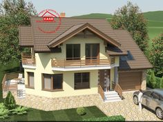 Architectural House Plans, Design Case, Small House Plans, Home Fashion, Decoration, My Dream Home, Shed, 1, Exterior