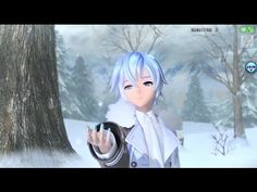 【KAITO v3 Whisper】『Soundless Voice』【VOCALOID Cover】 [PDA FT - 60fps] - YouTube