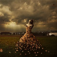 """""The Leaves of Linden Avenue"" by photographer Brooke Shaden ---- read about the process here: http://shadenproductions.com/blog/2012/03/14/3411/"