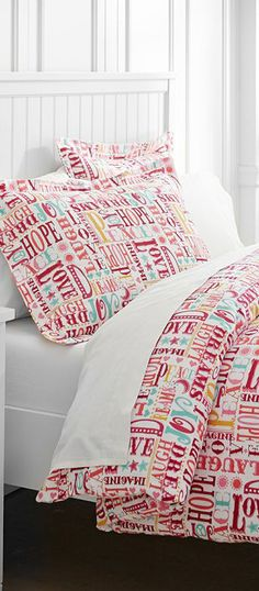 Merry World Girls Bedding