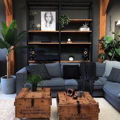 Cozy Small Living Room Decor Ideas For Your Apartment decor Home Interior Design, Interior Styling, Interior Decorating, Modern Home Interior, Interior Architecture, Decorating Ideas, Home Living Room, Living Room Decor, Manly Living Room