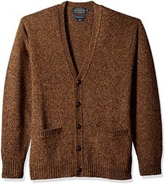 LAmore Coofandy Mens Cardigan Shawl Collar Long Sleeve Designer Open Front Knit Sweater