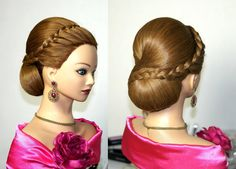 Hairstyles for long hair, wedding updo. POST YOUR FREE LISTING TODAY! Hair News Network. All Hair. All The Time. http://www.HairNewsNetwork.com