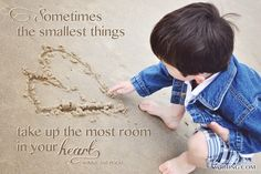 Shop Sometimes the Smallest Things. Poster created by WritingCom. Writing Posters, Custom Posters, Custom Framing, Winnie The Pooh, Favorite Quotes, Children, Creative, Funny, Parents