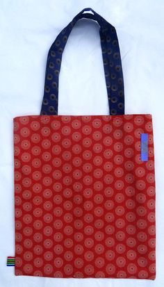 Jeannie Tote Bag  Strong African Fabric  Handmade by MathildeAndCo, £12.00