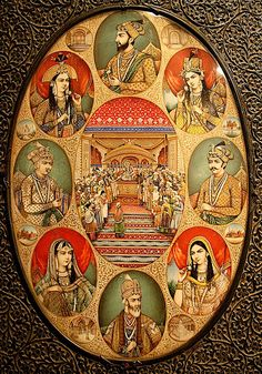Mughal kings and que