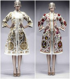 Fashion Designer - Aya Bapani, traditiona uzbek embroidered textiles - suzani.