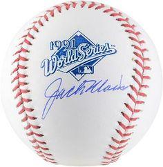 Jack Morris Detroit Tigers Fanatics Authentic Autographed 1991 World Series Logo Baseball with HOF 2018 Inscription Baez Cubs, 1984 World Series, Mlb Detroit Tigers, Baseball Signs, Baseball League, Babe Ruth, Minnesota Twins, Autographed Baseballs