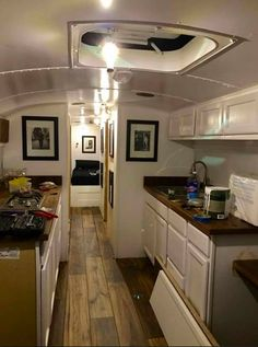 not the correct link, but an amzing picture of a bus turned rv