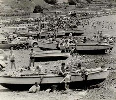 Playa las Teresitas.1960.Santa Cruz de Tenerife Fair Grounds, Boat, Travel, Modern, Santa Cruz, Canary Islands, Antique Photos, Beach, Past Tense